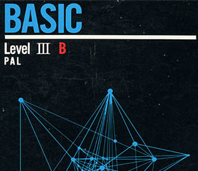 SEGA SC-3000 BASIC Level III B