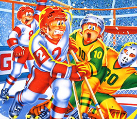 SEGA SC-3000 Champion Ice Hockey